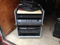 12U with top ssection rack box on wheels, this is for
