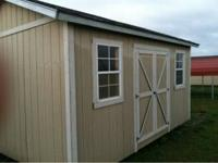 12/16 portable building, with 2 windows, loft, work