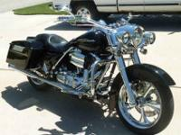 2004 Road King Custom, 24,000 miles, excellent
