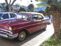 1957 Chevy Bel-Air Sports Sedan (rare option for 4 dr