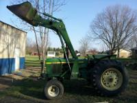 1979 John Deere 2640, 2411 hrs., less than 100 hrs on