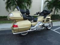 This is a gorgeous 2006 Goldwing thats in excellent