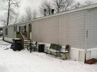 3br - 1995 patriot mobile home for Sale in Galesburg, Michigan