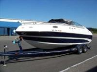 2000 Mariah A238 SHABA The beautiful blue hull on this