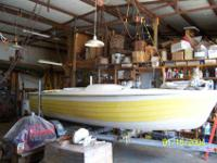 a classic bender built jersey speed skiff, all