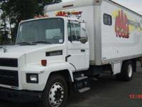 Super nice service/box truck. Used briefly for Mac