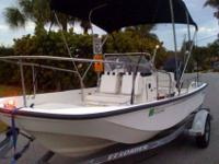 2002 Boston Whaler. Like new. Always dry stored. Never