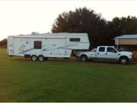 1998 36 Cardinal 5th Wheel Camper In Attractive