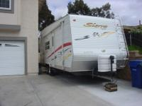 2006 Sierra Toy Hauler Trailer - Mint condition,