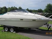 1996 25' Maxum Cabin Cruiser. This is a freshwater boat