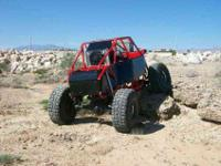 2012 tube chassis two seat rock buggy,started out as a