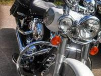 Like new eight Harley Davidson Heritage softail