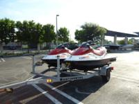This is a great pair of clean used watercraft. These