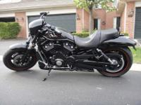 An immaculately maintained 2008 Harley Davidson Night