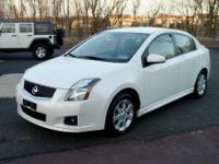 This 1-Owner 2011 Nissan Sentra 2.0 SR Sedan is a real