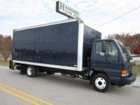 """Isuzu NPR 18' x 96"""" Box Truck, 2005, 4 Cyl. Diesel,"""