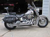 Showroom Condition 2009 Harley Davidson Heritage FLSTC.