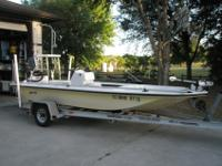 Great Hewes Flats Boat! 2005 HewesTailfisher 17' w/