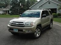 2005 Toyota Gold 4Runner SR5, 4X4, Automatic, 6cyl,