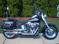 This FLSTF 2010 Fatboy only has 2,310 miles! 96?, 6