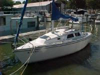 This 1992 Hunter 27 is Very Nice and Shows Very Well.