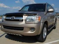 This 2006 Toyota Sequoia 4dr Limited SUV features a