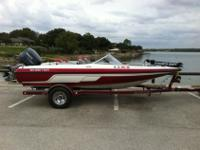 This is an exceptionally nice 2006 Skeeter SL180 Fish