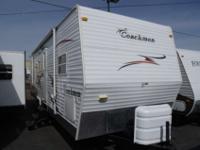 2007 Coachmen Spirit Of America 29TBS , White, This 1