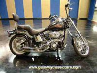 2008 Harley Davidson Softail Classic with a ton of