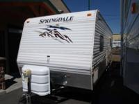 2008 Keystone Springdale , White, This is a very nice