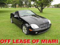 2003 MERCEDES SLK-CLASS SLK230 two DOOR KOMPRESSOR