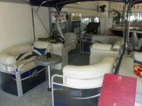 Michigan Made compact pontoon! Apex Qwest is located in
