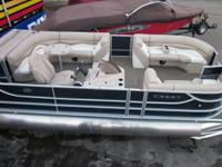 "'13 Crest II 230 ""triple-toon"". This particular boat is"