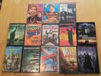 13 DVD's  Movies and Tv shows   show contact info