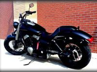 2013 Honda Phantom shadow 750 !!!! 1500 miles !!!!
