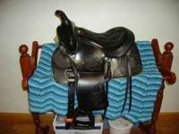 13 inch pony saddle. BRAND NEW! Never used. Beautiful