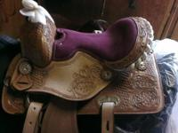 New kids western saddle for pony/small horse. Bought