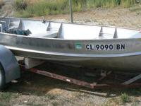 13' Lone Star V Haul Aluminum Fishing Boat, 10HP