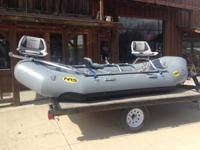 Brand name new 13' NRS Otter raft with NRS frame