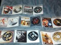 OK I got 13 gamea for ps3 for sale black ops 2 $30,gof