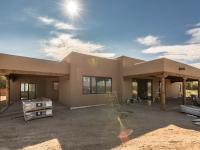 This remarkable Pueblo style under construction home