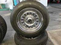 Set of four Brand new tires on rims. 175/70R13. the