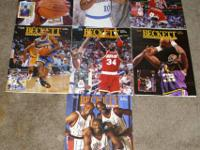 13 vintage basketball Beckett price guides. The price