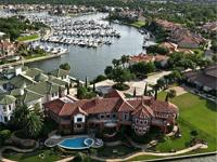 This luxurious waterside estate is found within the