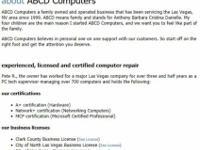 Laptop and computer repair (13+yrs )-Thanks Las Vegas