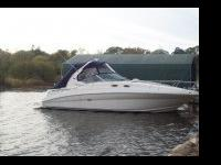 A 2006 sea ray sun dancer with two 375 horsepower
