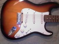 I've got a 2002 Fender Straocaster Standard 20th