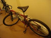 "Huffy all terrain 24"" Men's bicycle in mint condition."