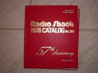 THESE ARE VERY RARE HARD COVER 1978, RADIO SHACK