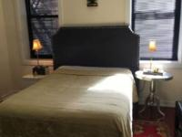 Furnished master bedroom for rent 2 big windows, lots